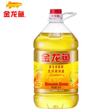 金龍魚花生濃香調和油5L