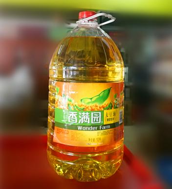 香滿園大豆油10L