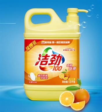 潔勁100除油洗潔精1.5kg