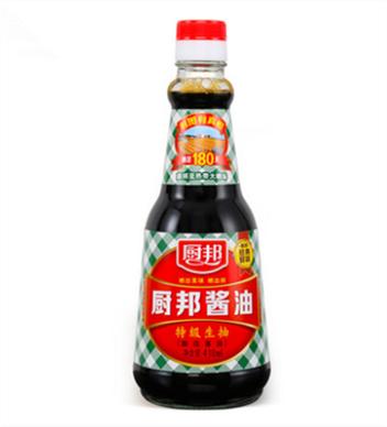 廚邦醬油410ml