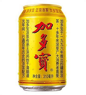 加多寶涼茶310ml金罐