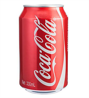 可口可樂330ml罐裝