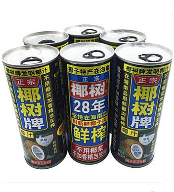 椰樹牌椰子汁245ml罐裝