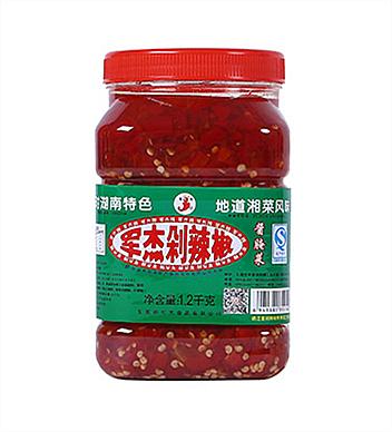 軍杰剁椒1.2kg