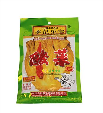 李記樂寶魚酸菜180g