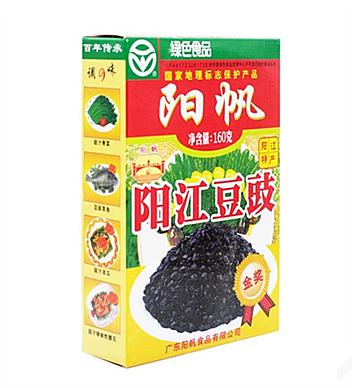 陽帆陽江豆豉160g