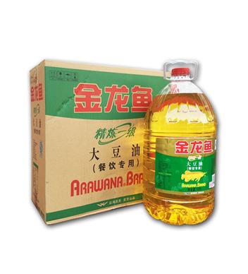 金龍魚一級精煉大豆油10L