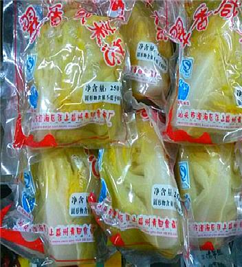 翠香咸菜心250g