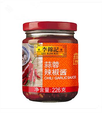 李錦記蒜蓉辣椒醬226g