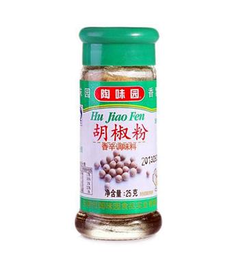 陶味園白胡椒粉25g