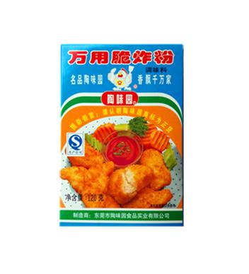 陶味園萬用脆炸粉120g