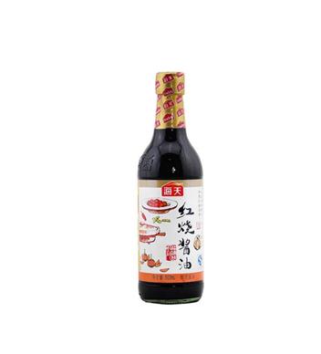 海天紅燒醬油500ml