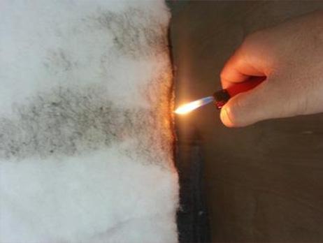 American Standard flame retardant cotton