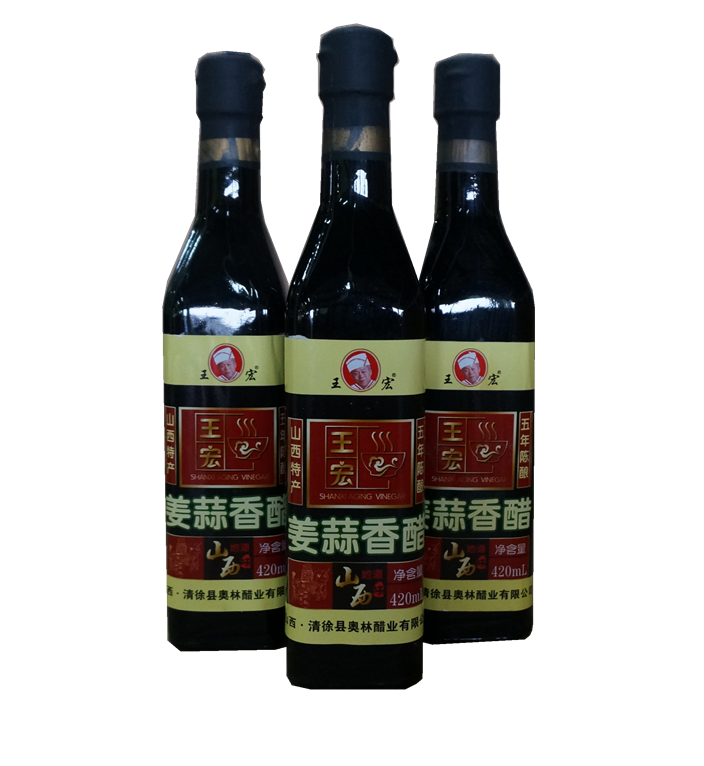 王宏姜蔥香醋420ml