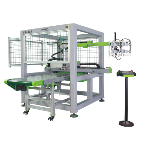 侧入式磁悬浮模内贴标系统ES-50-250