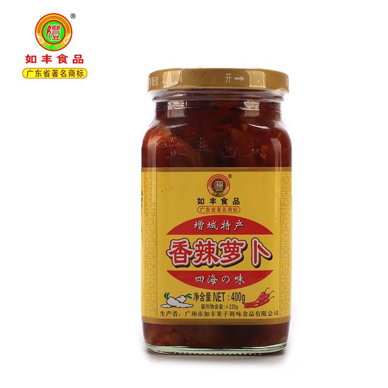 如丰-  香辣萝卜400g