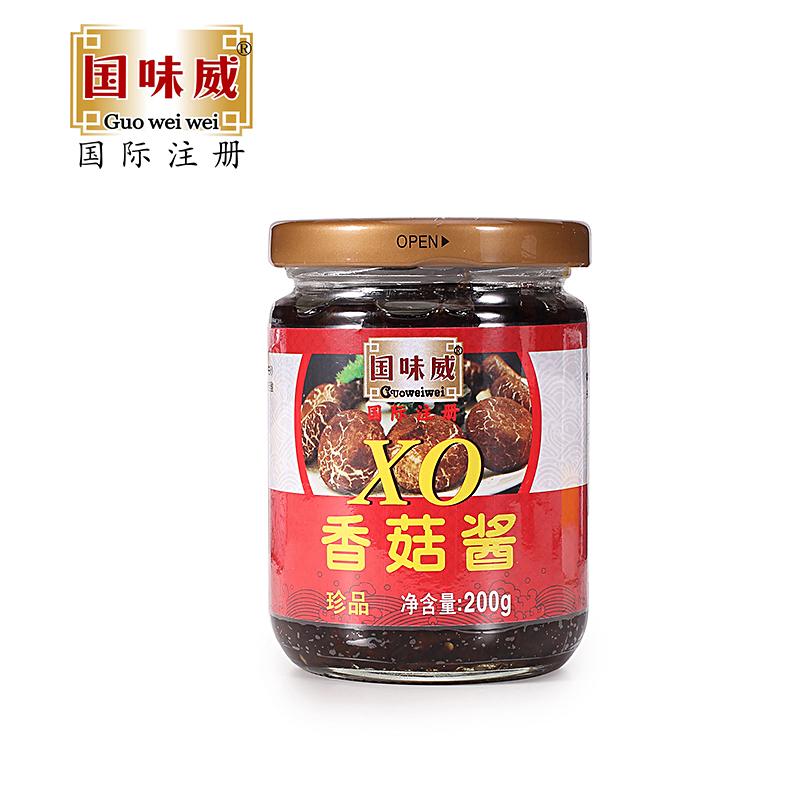 国味威牌-拌面拌饭酱 香菇酱200g