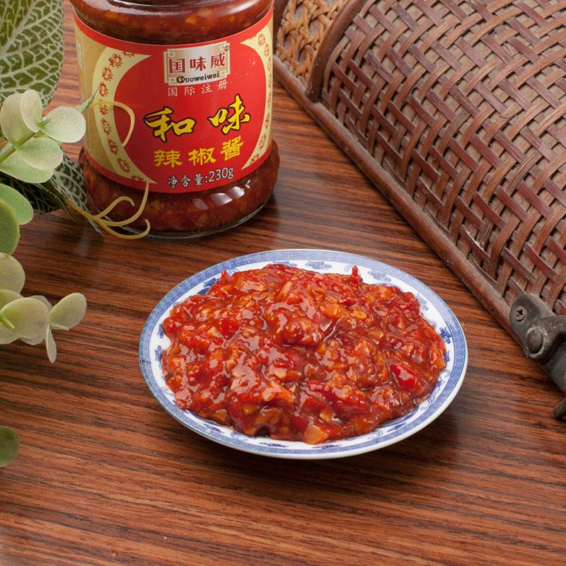 国味威牌-和味辣椒酱230g