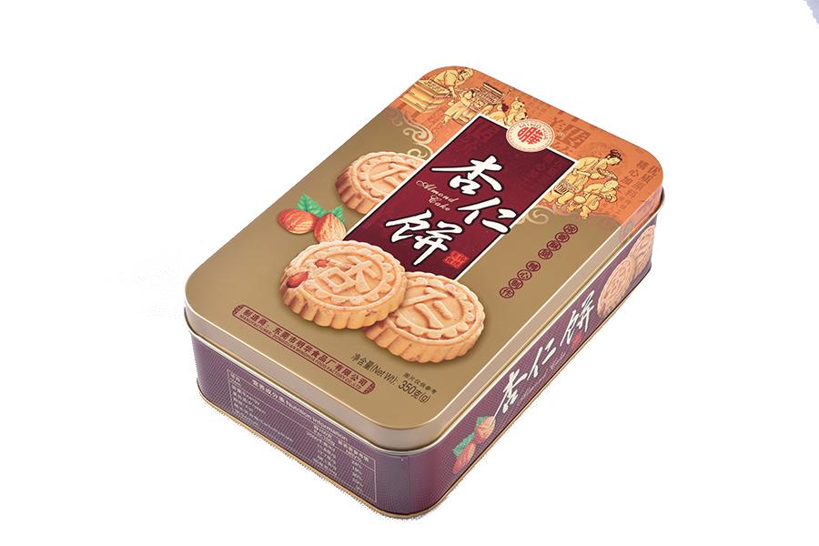 鐵盒杏仁餅