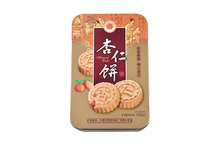 铁盒杏仁饼