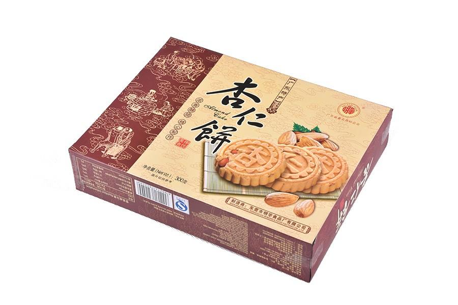 盒紙杏仁餅