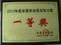 东莞市公共卫生工作一等奖