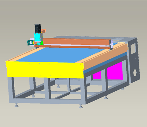 YXT-CNC1311D全自动异形玻璃切割机