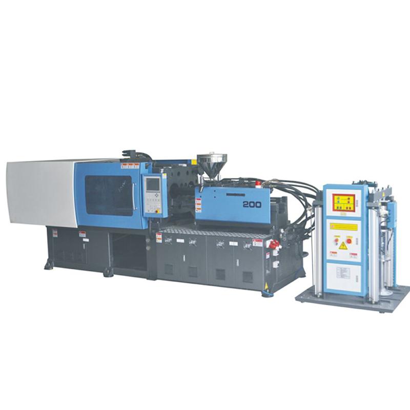 DCD-200双色物料卧式硅胶注射机