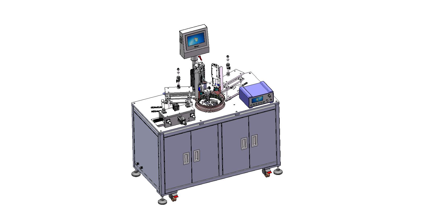 电机模组-插磁钢机