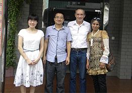 French Customer Visited Haoji